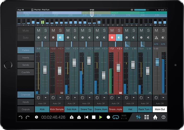 PreSonus Studio One Remote for iPad