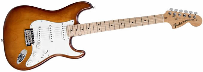 Fender USA Nitro Satin Strat