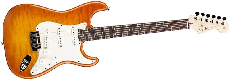 Fender Custom Shop Custom Deluxe Strat Honey Burst