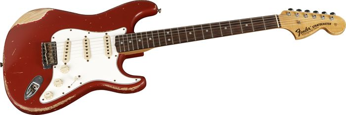 Fender Custom Time Machine 1968 Strat Dakota Red