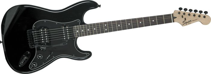 Squier Bullet HH Stratocaster Black