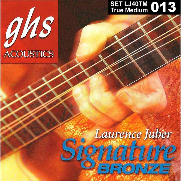 GHS Lawrence Juber Signature Bronze Strings