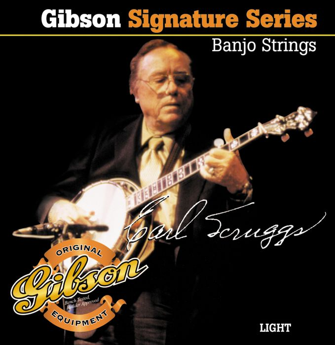 Gibson's Earl Scruggs Signature Banjo Strings