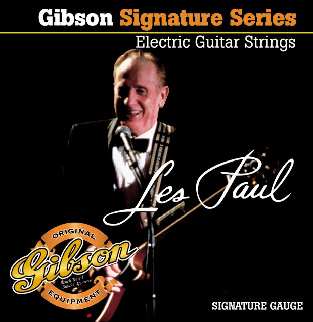 Gibson Les Paul Signature Electric Guitar Strings