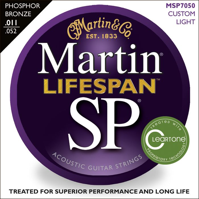 Martin Lifespan SP Phosphor Bronze Acoustic Strings