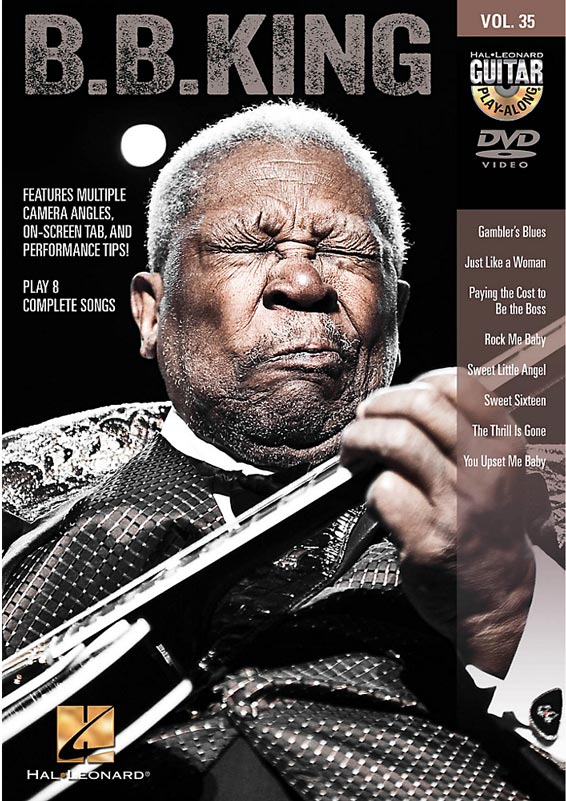 Hal Leonard B.B. King Play-Along DVD