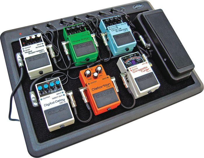 Pedalboard And Effects Chain