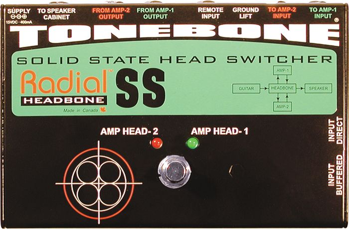 Radial Headbone Head Switcher
