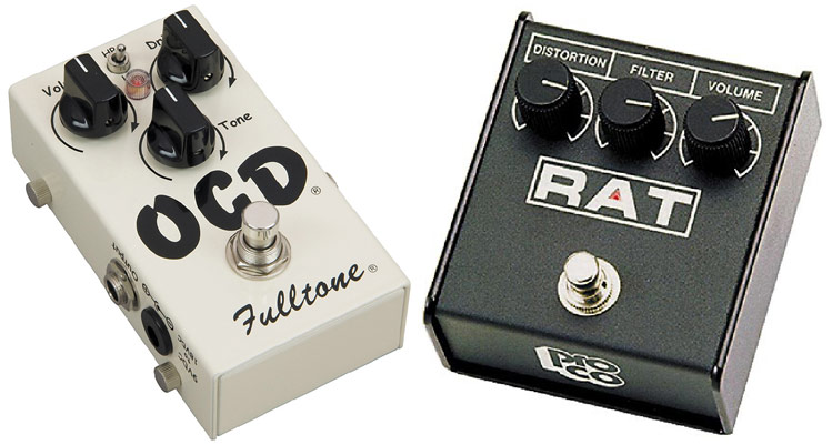 Differences Between Overdrive and Distortion Pedals
