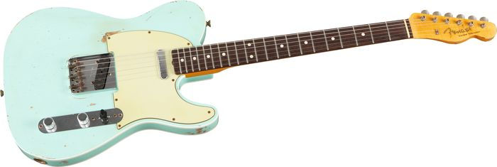 Fender Custom Shop Master Built 1960 Heavy Relic Telecaster Surf Green