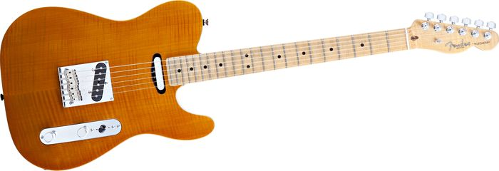 Fender Select Flame Maple Carved Top Telecaster