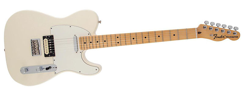 Fender USA Professional Telecaster HS Olympic White 800x291 jfn home recording telecaster buying guide fender standard telecaster hh wiring diagram at panicattacktreatment.co