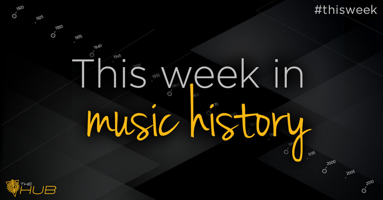 This Week in Music History August 3, 2015