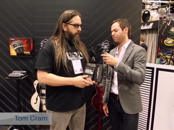 Digitech Element Multi-Effects Pedals - NAMM 2014