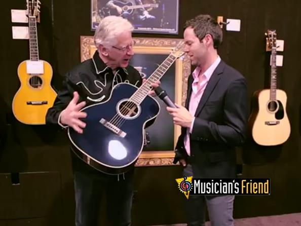 Video: Eric Clapton OM-ECHF Navy Blues Martin Guitar