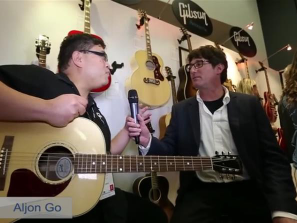 Video: Gibson J-15 Acoustic-Electric Guitar