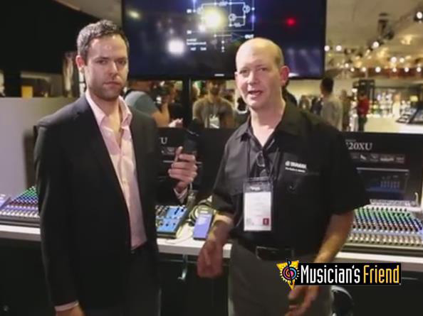 Video: Yamaha MG Series Mixers - NAMM 2014