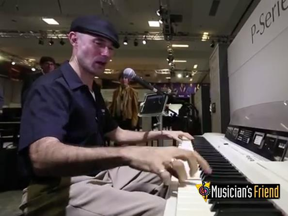 Video: Yamaha P-255 - NAMM 2014