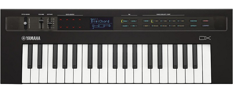 Product spotlight yamaha reface mini keyboards the hub for Yamaha dx reface review